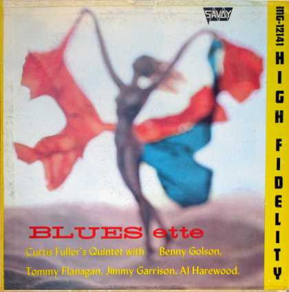 Oddest Album Covers - <<Bluesette>>