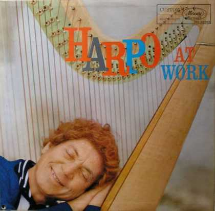 Oddest Album Covers - <<Harpo Marx At Work>>