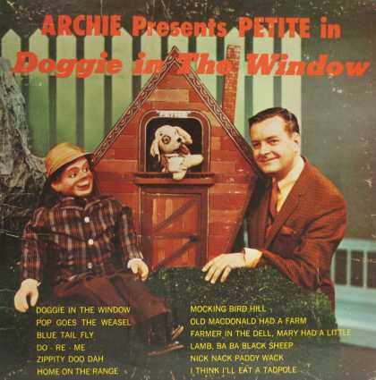 Oddest Album Covers - <<Archie and his friends>>