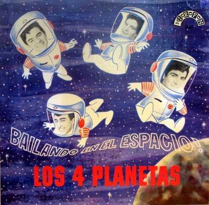 Oddest Album Covers - <<Los4 in space>>