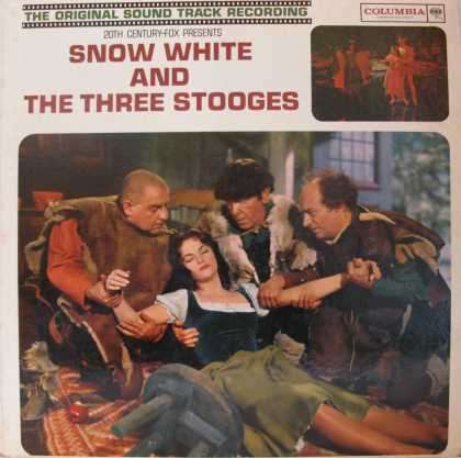 Oddest Album Covers - <<Snow White and the Three Stooges Sound Track>>