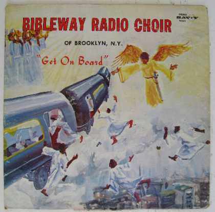 "Oddest Album Covers - <<People get ready (there's a ""J"" train a comin'�"