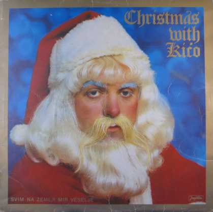 Oddest Album Covers - <<Strange Santa with blue brows>>