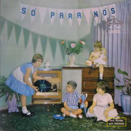 Oddest Album Covers - <<That first great babysitter with a record>>