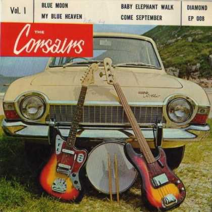 Oddest Album Covers - <<The Corsairs>>