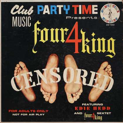 Oddest Album Covers - <<Another 4king comedy record>>