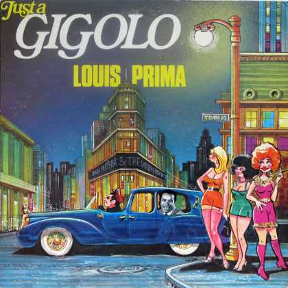 Oddest Album Covers - <<Pimpin' with Prima>>