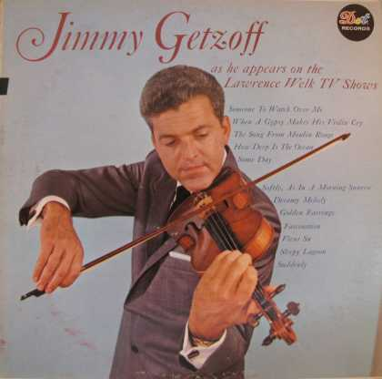 Oddest Album Covers - <<Jimmy Getzoff on the violin>>