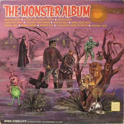 Oddest Album Covers - <<Ghouls rush in>>