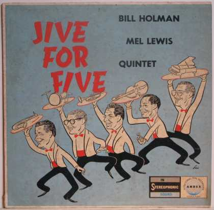 Oddest Album Covers - <<Jive For Five>>
