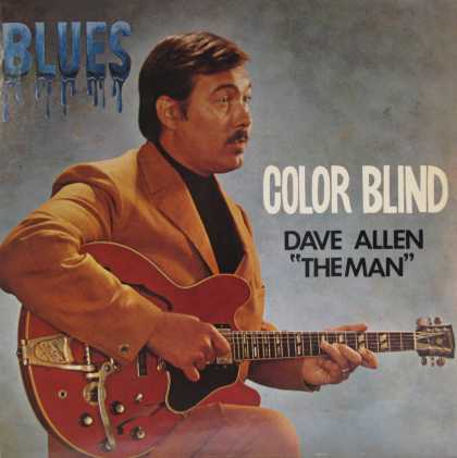 "Oddest Album Covers - <<""Color Blind"" Dave Allen>>"