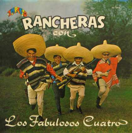 Oddest Album Covers - <<Jolly Rancheras>>