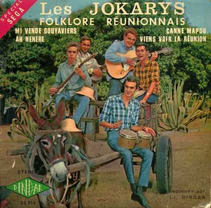 Oddest Album Covers - <<Five honkies and a donkey>>