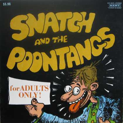 Oddest Album Covers - <<Snatch and the Poontangs>>