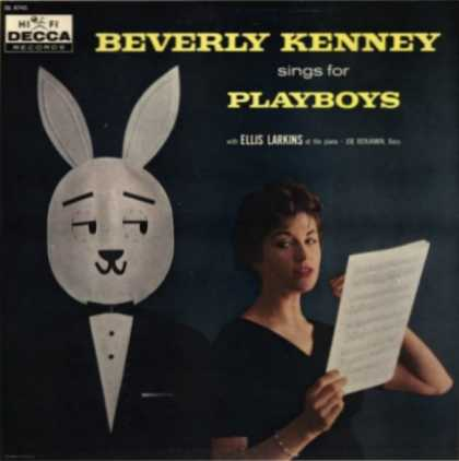 Oddest Album Covers - <<Beverly Kenny Sings for Playboys>>