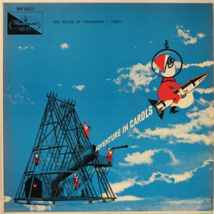 Oddest Album Covers - <<Santa's rocket>>