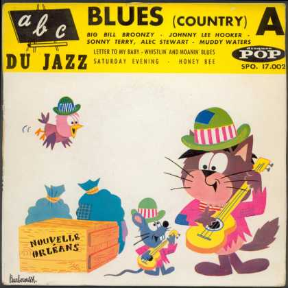 Oddest Album Covers - <<Blues (country) A Du Jazz>>