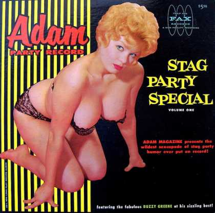 Oddest Album Covers - <<Stag Party Special #1>>
