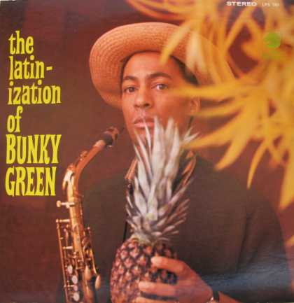 Oddest Album Covers - <<The Latinization of Bunky Green>>