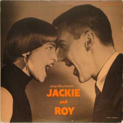 Oddest Album Covers - <<Jackie and Roy>>