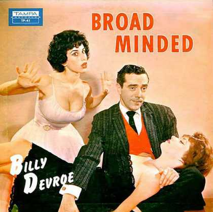 Oddest Album Covers - <<Bill Devroe comedy lp>>