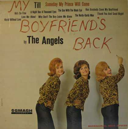 Oddest Album Covers - <<The Angels Smash hit>>