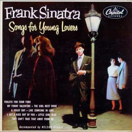 Oddest Album Covers - <<Songs for Young Lovers>>