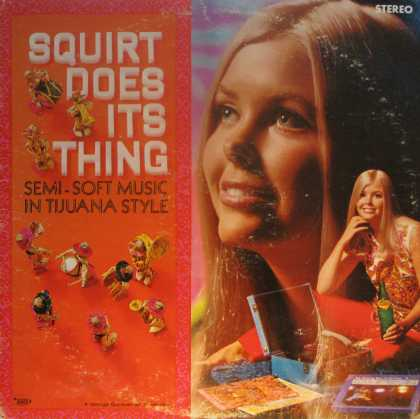 "Oddest Album Covers - <<""Squirt Does Its Thing."">>"
