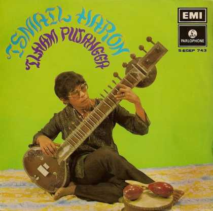Oddest Album Covers - <<Sitar man>>