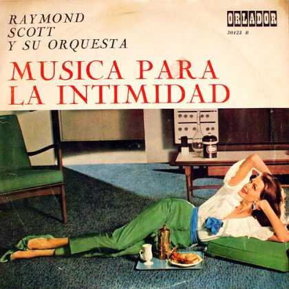 Oddest Album Covers - <<Look what Raymond Scott>>