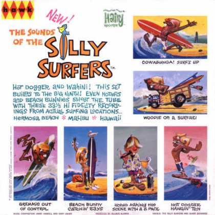 Oddest Album Covers - <<Silly Surfers and Weird-ohs>>