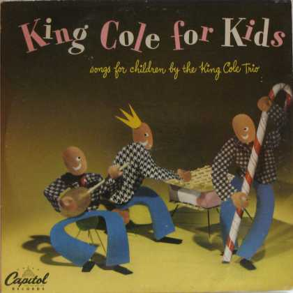 Oddest Album Covers - <<Old King Cole record>>
