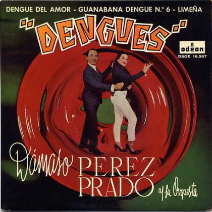 Oddest Album Covers - <<Denques fever>>