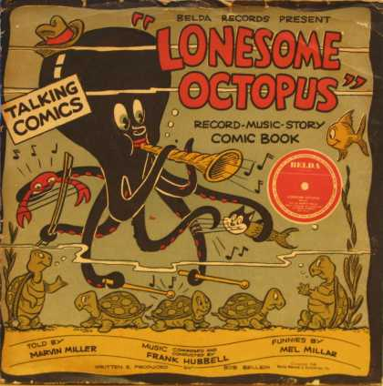 "Oddest Album Covers - <<""Lonesome Octopus"">>"