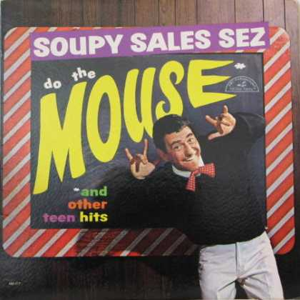 Oddest Album Covers - <<Soupy Sales Sez Do the Mouse>>