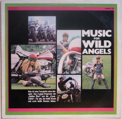 Oddest Album Covers - <<Music for Wild Angels>>