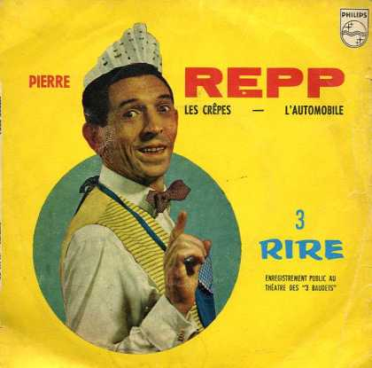 "Oddest Album Covers - <<""Your crepes will be out in just a minute."">>"