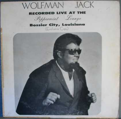 Oddest Album Covers - <<Wolfman Jack at the Peppermint Lounge>>