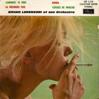 Oddest Album Covers - <<Tokin' blonde>>