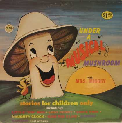 Oddest Album Covers - <<Shroom for growth>>