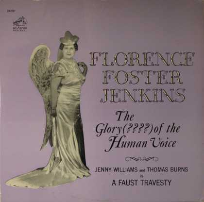 Oddest Album Covers - <<The worst of Florence Foster Jenkins>>