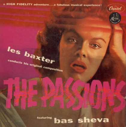 Oddest Album Covers - <<The Passions of Les Baxter>>