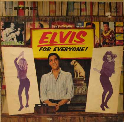 Oddest Album Covers - <<Record store Elvis>>