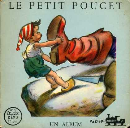 Oddest Album Covers - <<Poucet and boots>>