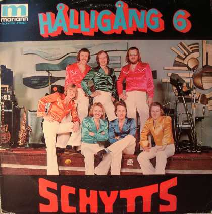 Oddest Album Covers - <<These guys are the Schytts>>