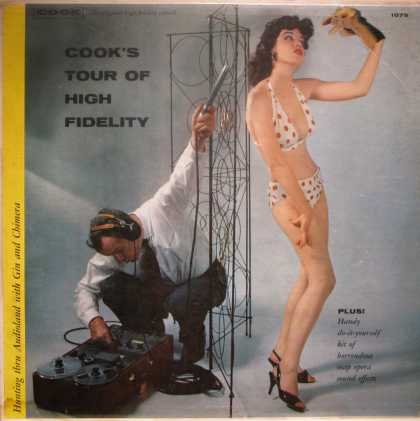 Oddest Album Covers - <<Recording a girl in a bikini talking to her hand puppet*>>