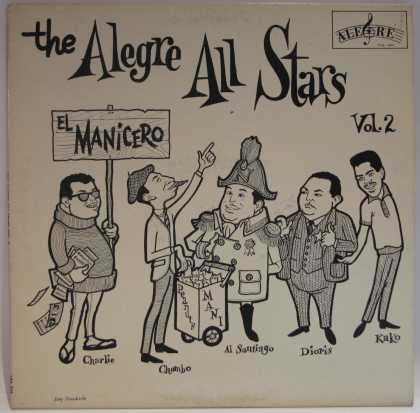 Oddest Album Covers - <<The Alegre All Stars>>