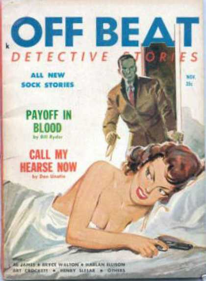 Off Beat Detective Stories - 11/1958
