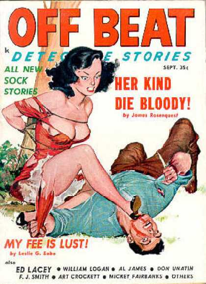 Off Beat Detective Stories - 9/1959