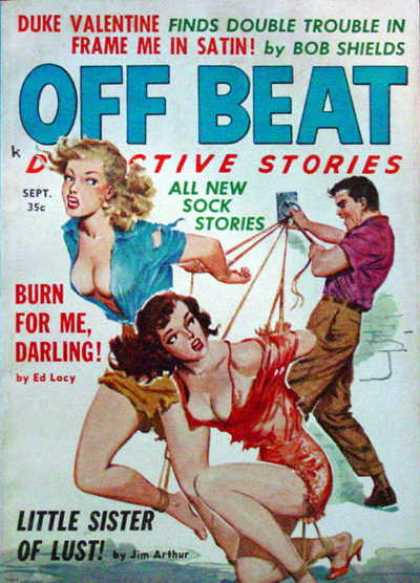 Off Beat Detective Stories - 9/1960